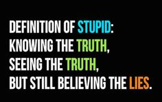 I was so stupid for so long.. Never again will I look past what I know is a lie.  I'll just walk away!  Lesson learned!
