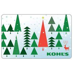50 Holiday Tree Gift Card