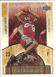 LeBron James Cleveland Cavaliers 2005-06 Upper Deck Hardcourt Basketball Card 14 >>> Read more  at the image link.