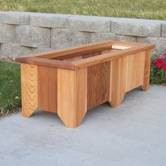 Free Shipping. Buy Wood Country Cedar Planter Box at Walmart.com