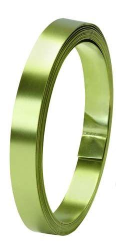 "1/2"" OASIS™ Flat Wire, Apple Green, 10/case"