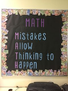 Math bulletin board - Everything About Kindergarten Math Teacher, Teaching Math, Kindergarten Math, Teaching Poetry, Teacher Stuff, Math Resources, Math Activities, Math Classroom Decorations, Classroom Ideas