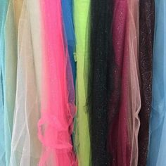 Soft VEILING Tulle Stardust GLITTER Sparkling TUTU Netting Skirts Costume Fabric #TheFabricSpecialists