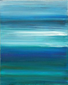 "Saatchi Art Artist Julia Britvich; Painting, ""Windy sea"" #art"