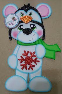 MarVia: ♥ oso navideño ♥