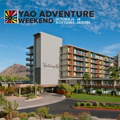 Weekend getaway to Scottsdale Arizona. Meet other passionate young people. Learn how to better fight poverty. This is what YAO Adventure Weekend is all about!