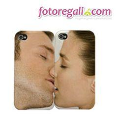 IDEA REGALO N.10 - Regala una cover personalizzata con foto: dopo questo San Valentino anche i vostri smartphone  diventeranno inseparabili!  http://www.fotoregali.com/cover