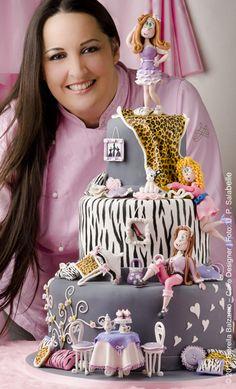 """FASHION CAKE"" © 2012 Fiorella Balzamo – Cake Designer"