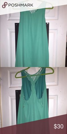 Green dress Lovely on! Beautiful green dress Dresses High Low