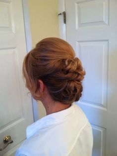 Formal hair, wedding hair, updo, bridesmaid hair, prom hair. Hair by Christy: Simply Captivating On-Site Beauty Services, PGH, PA. Follow me on FB!