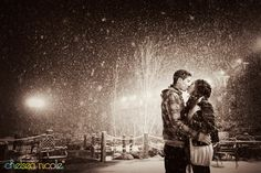 kissing in snow - Bing Images