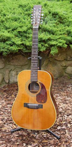 1975 Alvarez 12-String Model 5054 | Reverb