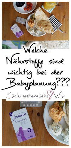 (Anzeige) Welche Nährstoffe sind eigentlich wichtig bei der Babyplanung? Und wie kann ich mich optimal auf eine Schwangerschaft vorbereiten?  #apo-discounter.de #Babyplanung #kinderwunsch