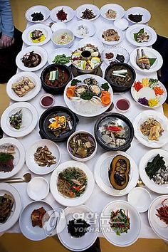 Royal Palace Cuisine at Myeong Wol Gwan in Seoul, Korea!