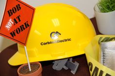 Construction Themed Corporate Retirement Party