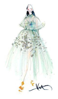 Fashion Illustration Design Paper Fashion: Where Fashion Meets Paper! Illustration Mode, Fashion Illustration Sketches, Fashion Sketchbook, Fashion Sketches, Drawing Sketches, Paper Fashion, Fashion Art, Fashion Outfits, Moda Fashion