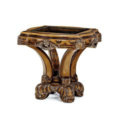 You'll love the Firenza End Table at Perigold. Enjoy white-glove delivery on large items. Sofa Set Online, Beautiful Compliments, Gold Highlights, Exposed Wood, End Tables, Accent Chairs, Traditional, Decor Ideas, Italia