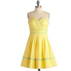 Banana Bubble Tea Dress