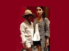 Tiffany Brown Designs at paris fashion show