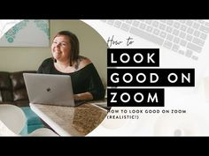 How To Look Good On Zoom (REALISTIC!) - YouTube App Zoom, How To Look Better, That Look, Zoom Call, Tips, Youtube, Youtubers, Youtube Movies, Counseling