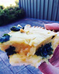 Cheesy Vegan GF Quiche
