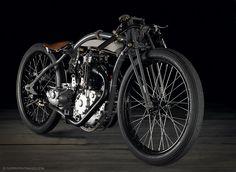 The beautiful Rudge 'bitsa', built by Jean-Claude Barrois.