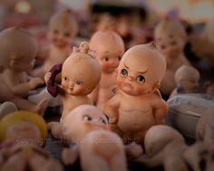 Kewpie Doll Art, Fine Art Photography - Frowning Doll - Flea Market - Still Life Photo, Toy - Doll, 8 x 10 - Color Photo - Nursery Art