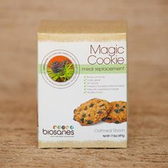 The Magic Cookie ™ Natural Oatmeal Raisin – 7 Count