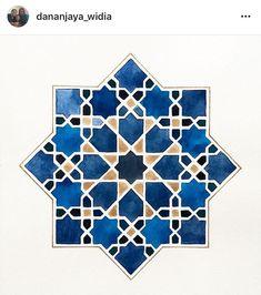 Motifs Islamiques, Islamic Motifs, Islamic Art Pattern, Arabic Pattern, Geometry Pattern, Geometry Art, Pattern Art, Art Antique, Geometric Drawing