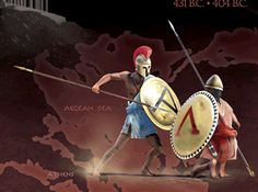 "431BC-404BC- Athens' ""golden age"" is brought to an end by Spartan invasion & occupation in the Peloponnesian War."