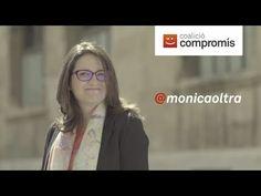 """Mónica Oltra. Coalició Compromis. """"Vota #ambValentia, vota Compromís!""""."""