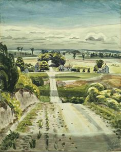Road in May, Charles Burchfield  1939