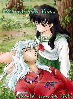 Beautiful ♡ Inuyasha and Kagome ^.^ ♡