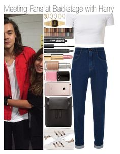 """""""• Meeting Fans at Backstage w/ Harry"""" by dianasf ❤ liked on Polyvore featuring Dolce&Gabbana, adidas Originals, Sophie Hulme, Forever 21, Casio, H&M, Topshop, Chanel, La Bella Donna and LVX"""