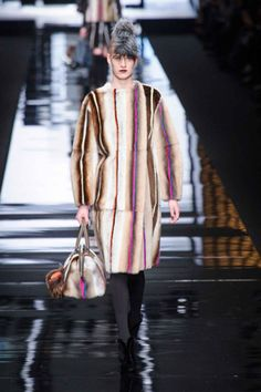 Fendi Fall 2013: Fur Real - Fashionista
