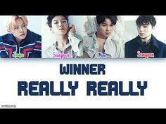 WINNER - REALLY REALLY LYRICS [COLOR CODED HAN|ROM|ENG] - YouTube