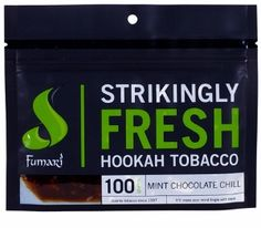 Review on Fumari Mint Chocolate Chill, one of my favorite dessert flavors. http://www.hookahhooligan.com/fumari-mint-chocolate-chill-review/ #hookah #shisha #fumari