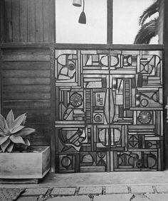 Mabel Hutchinson - Pair of Sculptural Doors - 1968