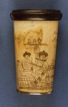 Scrimshaw  1834  The British Museum