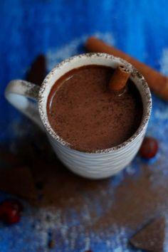 Gorąca czekolada z czerwonym winem: zasługuję na to w ten ziąb (łatwiutki przepis)