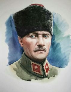 personal celebration and personal celebration planning Gazi Mustafa Republic Of Turkey, Turkish Army, Turkish Lira, Oil Painting Pictures, The Legend Of Heroes, Olay Regenerist, In China, Ottoman Empire, Portraits