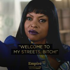 The streets today, the world tomorrow. #CookieLyon #Empire #Taraji