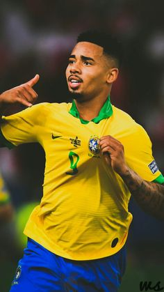 Gabriel Jesus, Manchester City & Brazil - Gabriel Jesus, Manchester City & Brazil Source by Football Soccer, Football Players, Jesus Birthday, Manchester City, Neymar, Premier League, Gabriel, Brazil Brazil, Boys