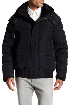 547bee09874 Image of Andrew Marc Helston Quilted Down Jacket Mens Fashion Suits