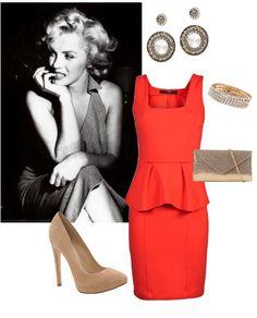 Modern day Marilyn Monroe style