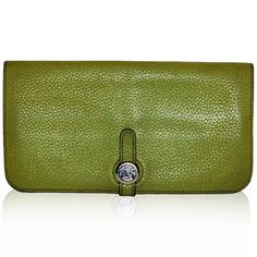 Hermes Green Dogon Wallet http://www.consignofthetimes.com/product_details.asp?galleryid=7979