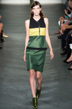 Loving the Jamaica colors.  Derek Lam Spring 2013