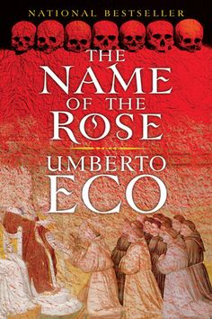 BEST NOVELS: The Name of the Rose Umberto Eco. You can read it a dozen times and still find new meaning. Movie was pretty good, too--- Sean Connery, Christian Slater, and ---fuck yeah! I Love Books, Good Books, Books To Read, My Books, Free Books, Book Writer, Book Authors, Umberto Eco Books, Best Mystery Novels