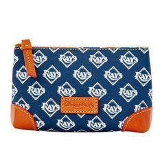 Tampa Bay Rays Dooney & Bourke Cosmetic Case - $48.00