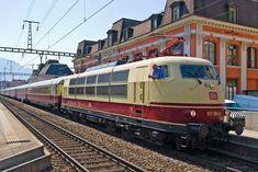 "E103 DB et reconstitution du TEE ""Rheingold"""